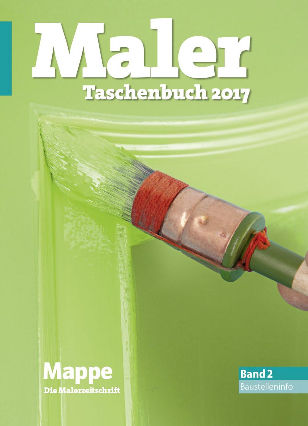 maler taschenbuch 2017 band 2 baustelleninfo callwey. Black Bedroom Furniture Sets. Home Design Ideas