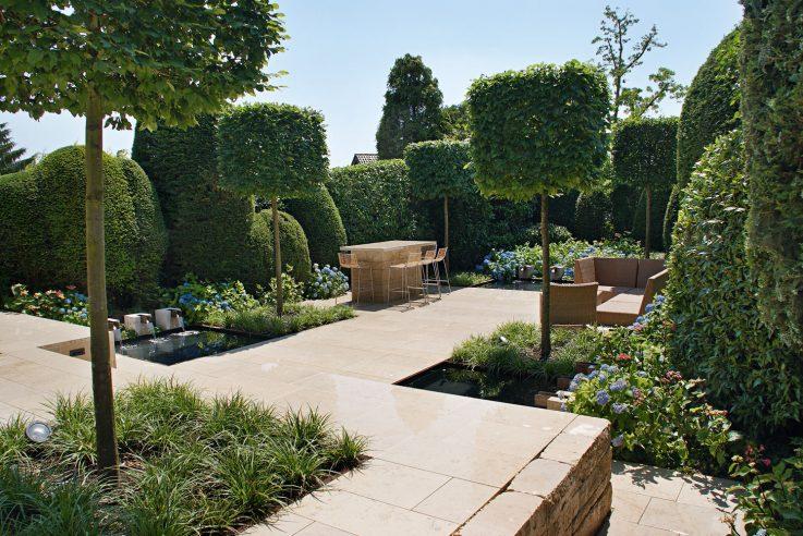 Gärten des Jahres 2017. Das Designstückchen von Otto Arnold