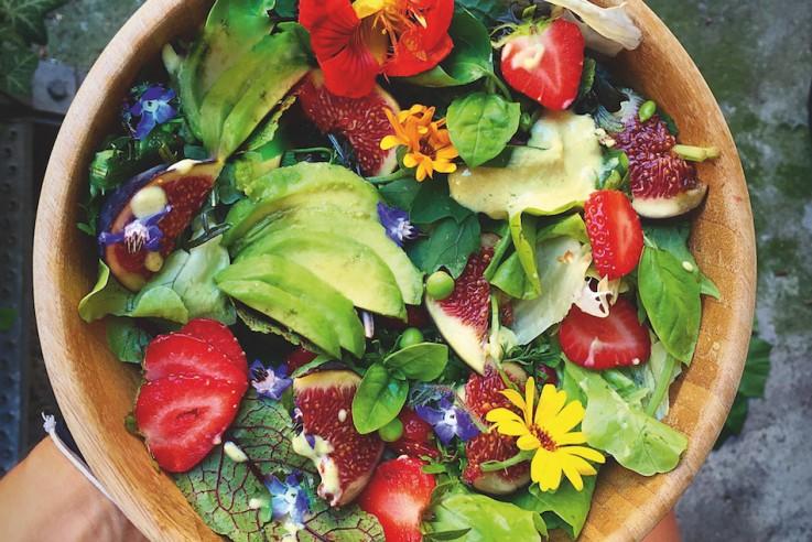 Callwey Kochbuch Buddha Bowls Sommer Salat Erdbeeren