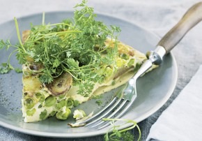 Frittata Barbara Bonisolli vegetarisch kochen