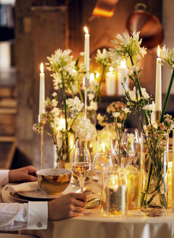 Tischkultur dekorieren Feste Gäste Callwey Dinner romantisch