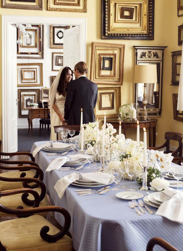 Tischkultur dekorieren Feste Gäste Callwey Hochzeit opulent