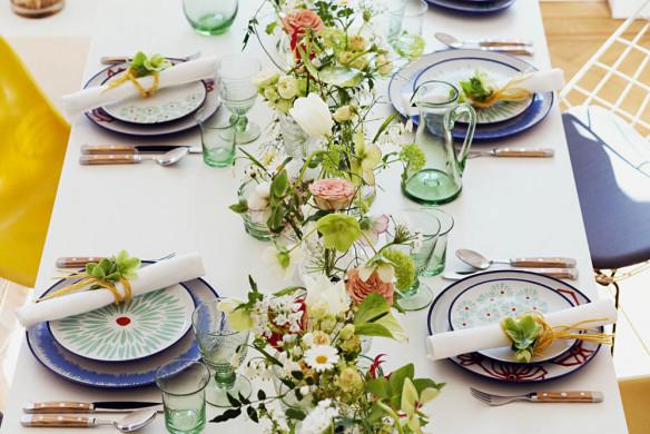 Tischkultur dekorieren Feste Gäste Callwey Low Budget Hochzeit