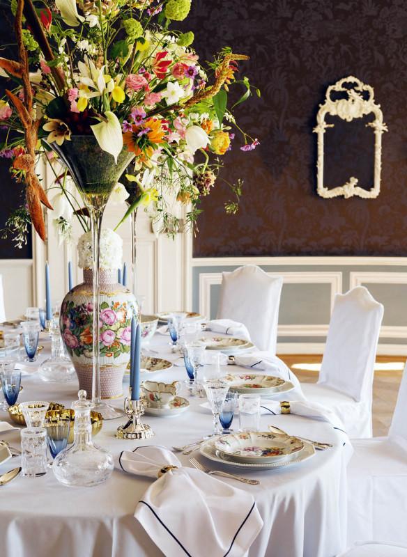 BJÖRN KRONER TISCHKULTUR Traumhaft Dekorieren für Feste und Gäste Callwey opulent Nymphenburg