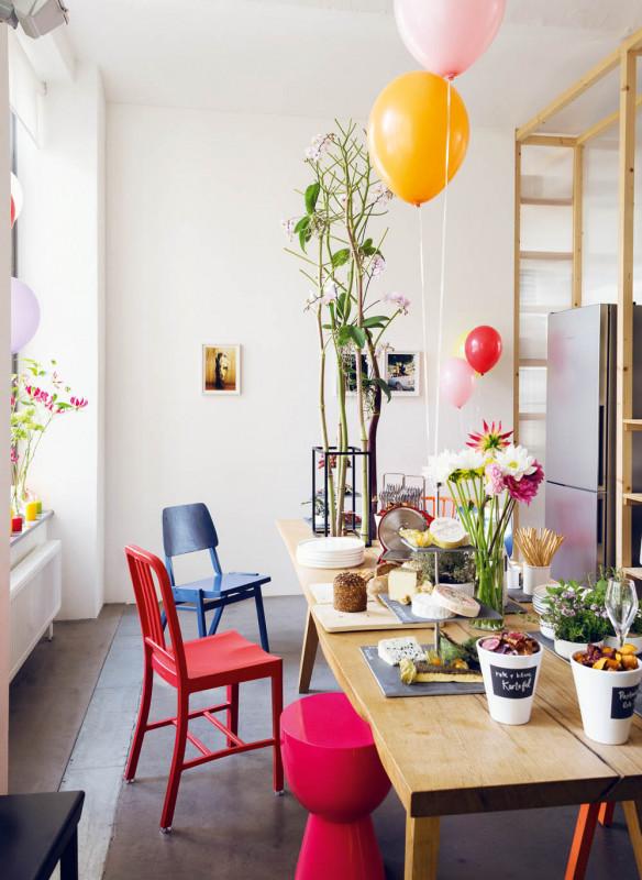 Tischkultur dekorieren Feste Gäste Callwey Party mit Freunden