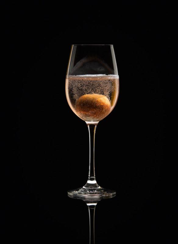 Bar Bibel Cocktail No. 43 Champagne for the Advocat