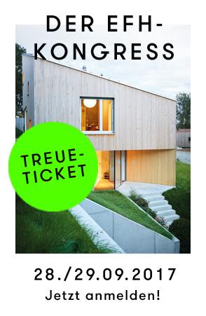 EFH-Kongress Event für Einfamilienhaus-Architektur Standard-Tickets jetzt kaufen