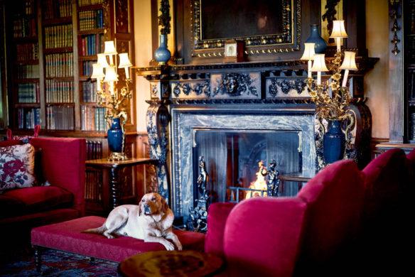 Highclere Castle ist seit jeher auch das Zuhause der Familien- und Jagdhunde