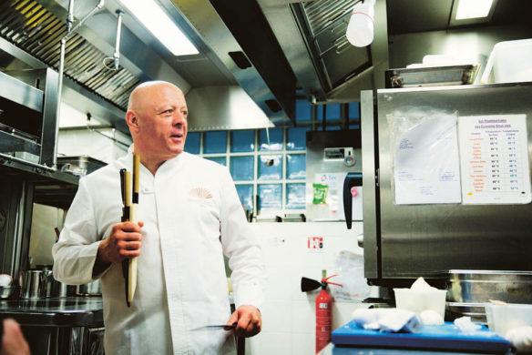 Messer Auch Thierry Marx, eine Größe der französiscehn Gastronomieszene, zählt Marius zu seinen Kunden