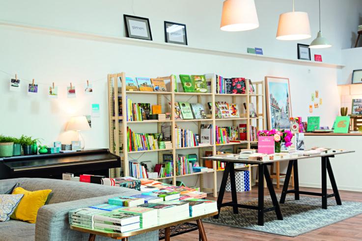 Buchhandlung Herr Holgersson im Laden