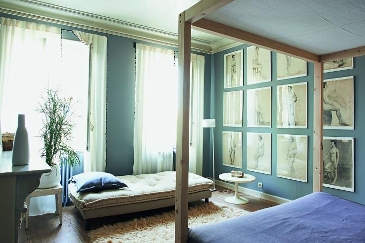Das große Wohnbuch Callwey Schlafzimmer Bodenbelag Teppich