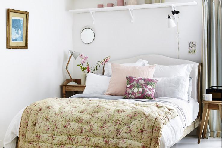 Das große Wohnbuch Callwey Schlafzimmer Kinderzimmer floral romantisch Tagesdecke