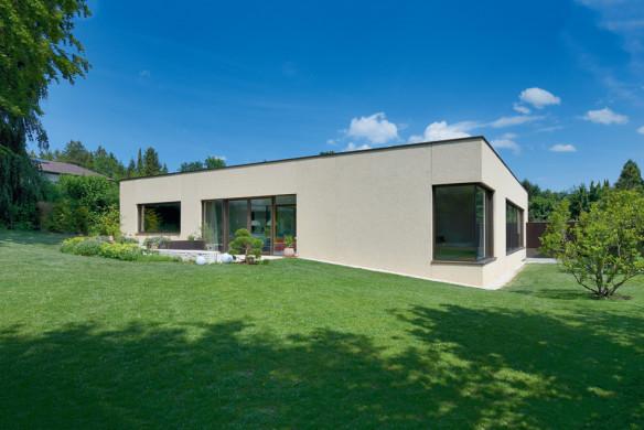 Die besten Einfamilienhäuser aus Beton Einfamilienhausarchitektur Architekturbuch F64 Architekten Wohnhaus V3