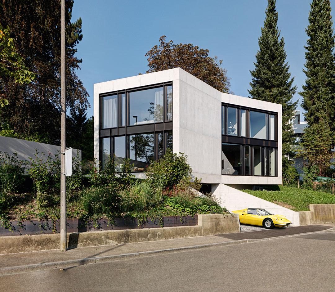 die besten einfamilienh user aus beton callwey architekturbuch. Black Bedroom Furniture Sets. Home Design Ideas