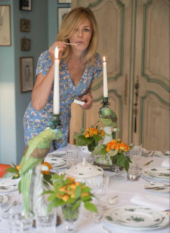 Grossartige Gastgeberinnen einladen Gäste Callwey Altbau Kerze Porzellan