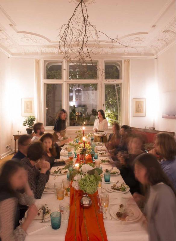 Grossartige Gastgeberinnen einladen Gäste Callwey Berlin Brunch Dinner Oswald
