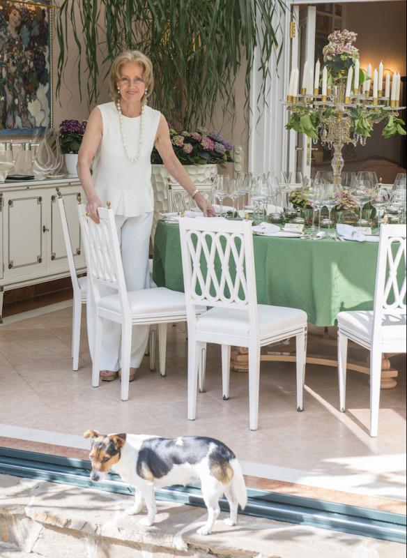 Grossartige Gastgeberinnen einladen Gäste Callwey Sacher Wien Terrasse Tafel