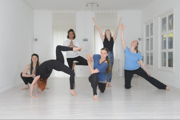 I love Yoga Gutscheinbuch Berlin Kalaa Yoga Gruppe