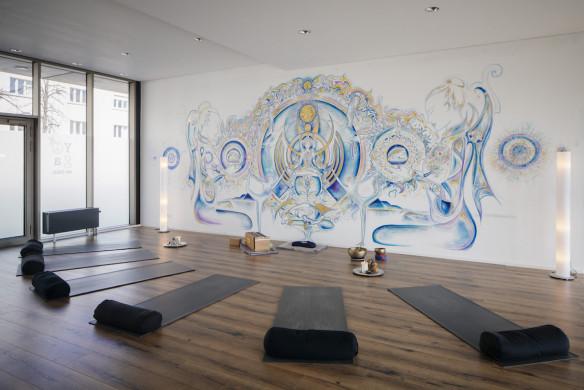 I love Yoga Gutscheinbuch München Matte Studio
