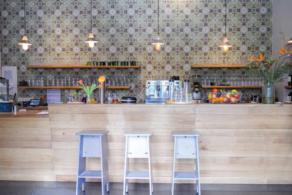 Ornament und Farbe Zementmosaik VIA Platten Wandverkleidung Innenarchitektur