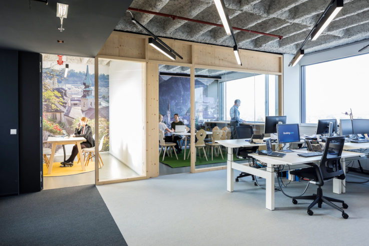 Christine Kohlert moderne Lern- und Arbeitswelten space for creative thinking Booking.com Salzburg