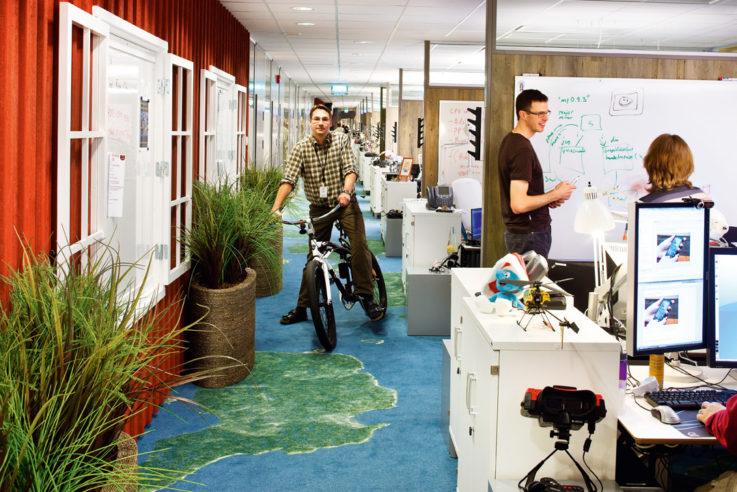 Christine Kohlert moderne Lern- und Arbeitswelten space for creative thinking Google Stockholm Sweden