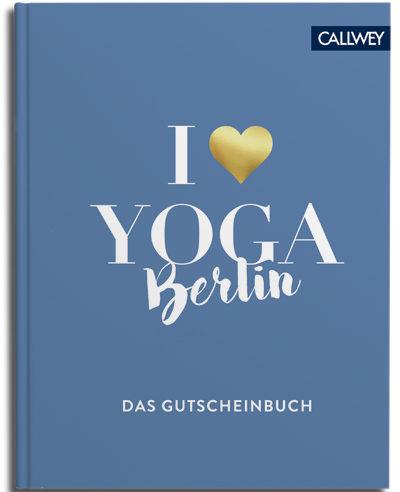 I love Yoga Berlin Gutscheinbuch
