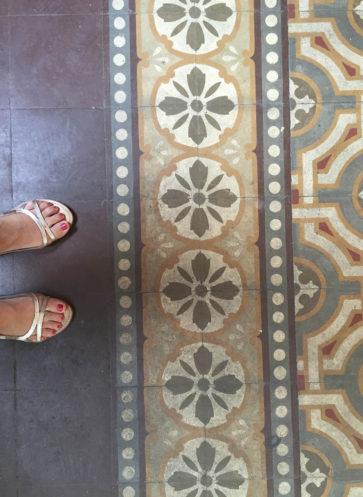 VIA historische Zementmosaikplatten Muster aus Verona im Sortiment