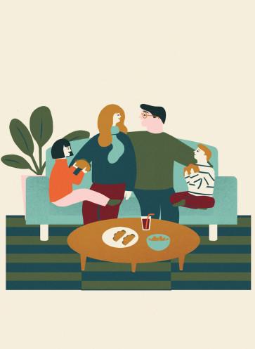 Lagom leben in Balance Callwey Gemeinsamkeit Familie