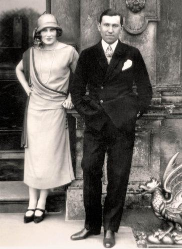 Downton Abbey Lord und Lady Carnavon