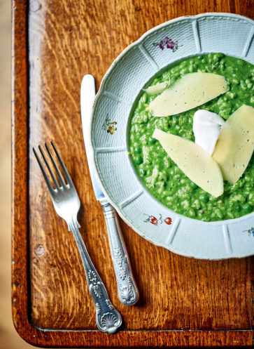 Highclere Castle Downton Abbey Risotto