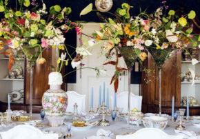Björn Kroner Tischkultur dekorieren für Feste und Gäste Callwey opulent Nymphenburg