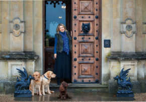 Lady Carnarvon Highclere Castle Downton Abbey