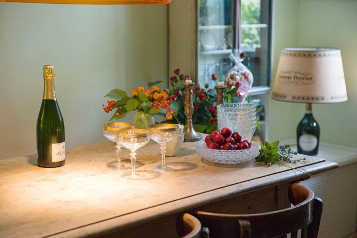 Willkommen bei großartigen Gastgeberinnen Callwey Wohnbuch Ratgeber Champagner Aperitif