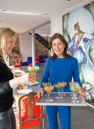 Willkommen bei großartigen Gastgeberinnen Callwey Wohnbuch Ratgeber Lunch Rehlingen