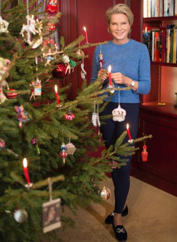 Willkommen bei großartigen Gastgeberinnen Callwey Wohnbuch Ratgeber von Pfuel Schloss Weihnachten deko Baum