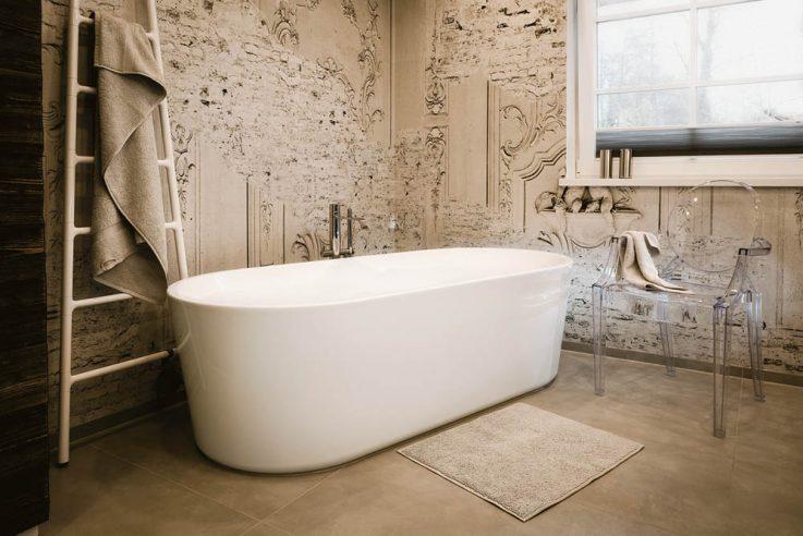 Martina Brüßel moderne Bargestaltung Callwey Autorin des Monats Tapete im Bad