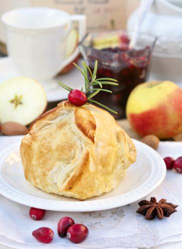 Apfel im Schlafrock Rezept Blätterteig Callwey Kochbuch Wintertraum und Weihnachtszeit