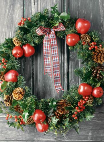 wintertraum weihnachtszeit kranz