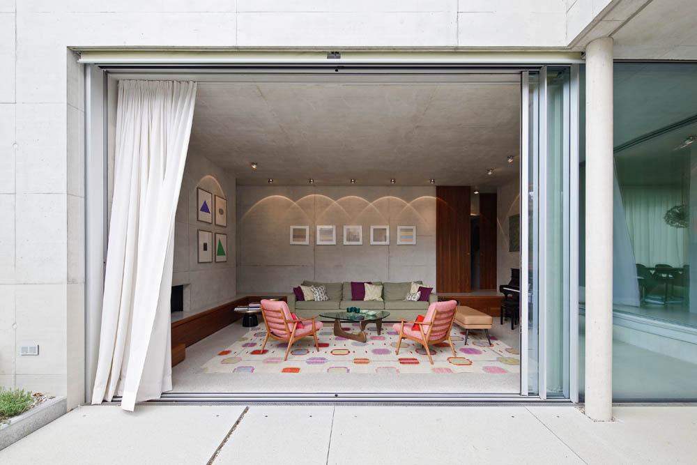 Wohnen in Beton   die besten Einfamilienhäuser aus Beton
