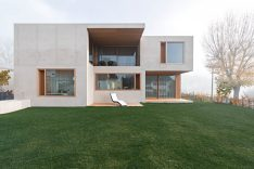 Wohnen in Beton Einfamilienhäuser aus Beton Betonhaus bauen Kohlmayer Oberst Architekten