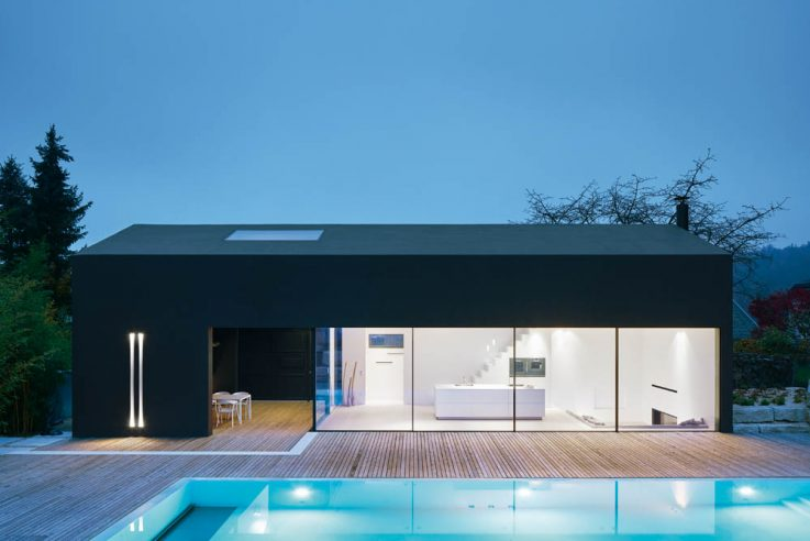 Wohnen in Beton Einfamilienhäuser aus Beton Betonhaus Thomas Fabrinsky