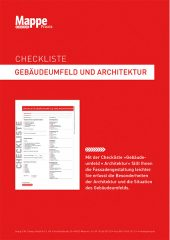 Checkliste Gebäudeumfeld und Architektur