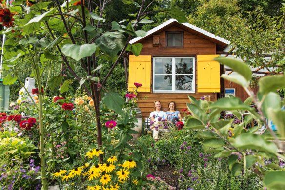 Garden Girls Gartenbuch Callwey Laube gärtnern Schweiz