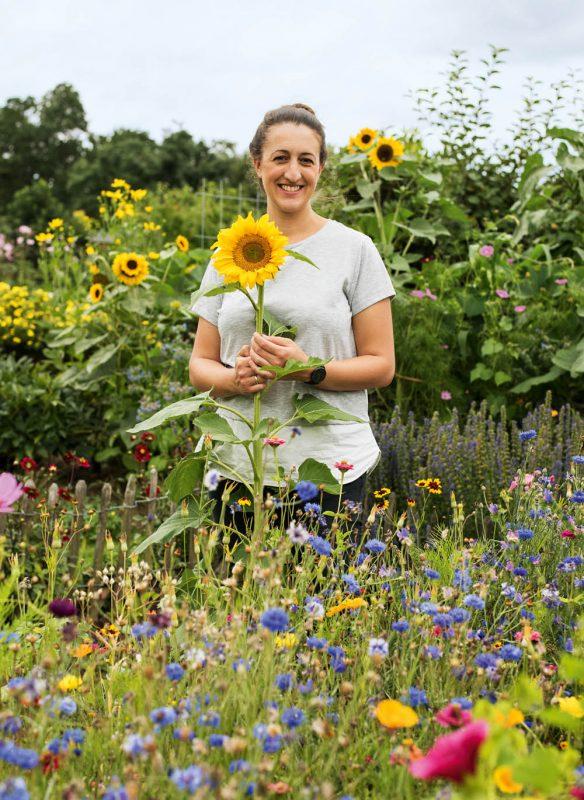 Garden Girls Gartenbuch Callwey Sonnenblumen Schrebergarten