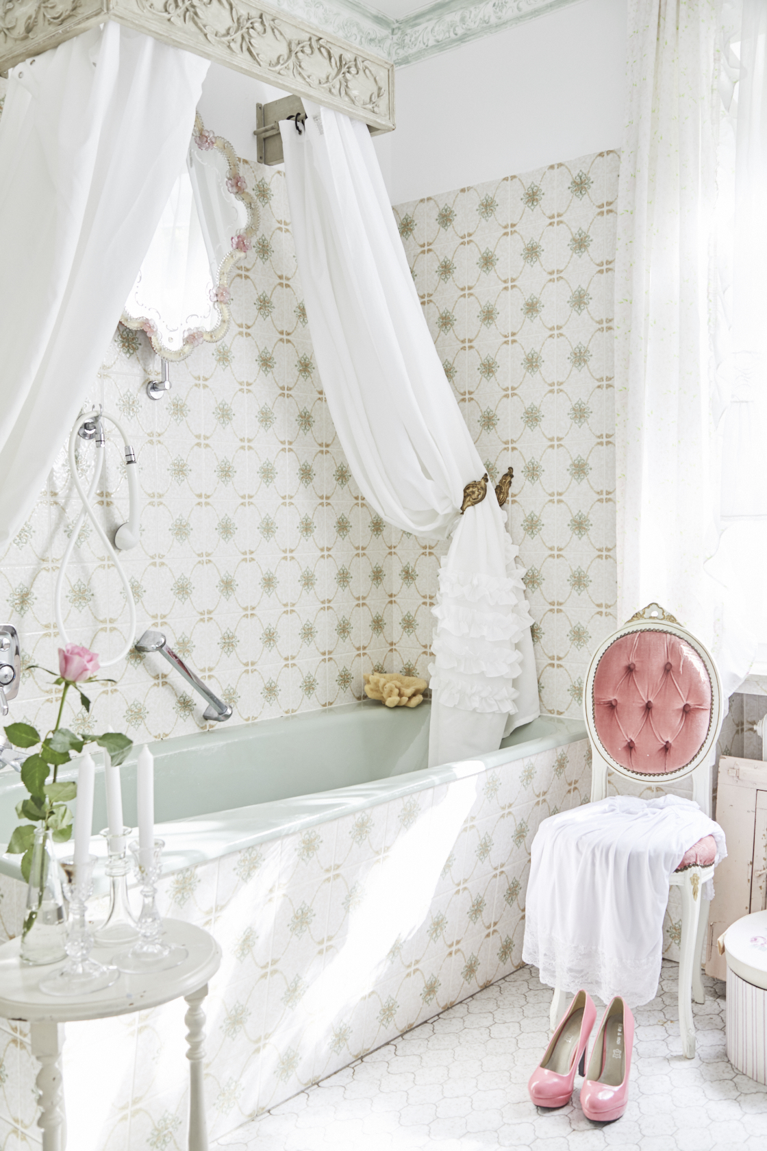 shabby chic badezimmer great with shabby chic badezimmer. Black Bedroom Furniture Sets. Home Design Ideas