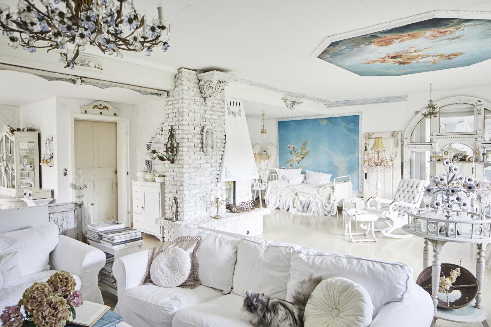 man wohnt nur mit dem herzen gut shabby chic wohnbuch callwey. Black Bedroom Furniture Sets. Home Design Ideas