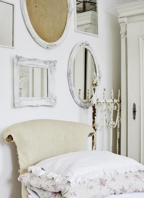 shabby chic wohnbuch callwey spiegel bilderrahmen deko idee