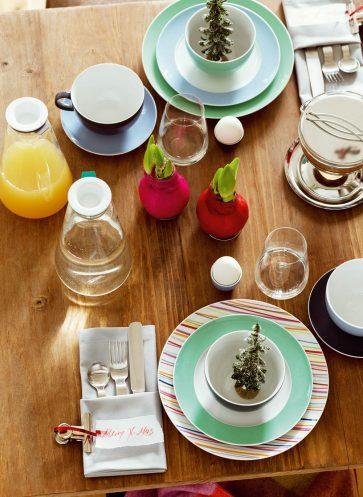 tischkultur callwey wohnbuch weihnachten bunt diy serviette