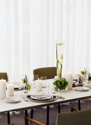 tischkultur callwey wohnbuch weihnachten modern tulpen deko